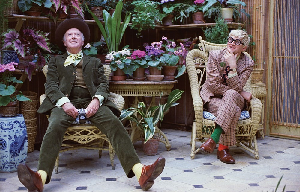 David Hockney and Cecil Beaton, © Peter Schlesinger