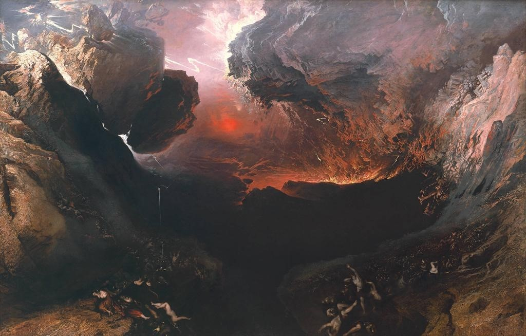 The Great Day of His Wrath 1851-3, John Martin