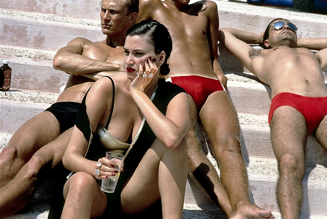 Helmut Newton, French Vogue, Monte Carlo, 1980