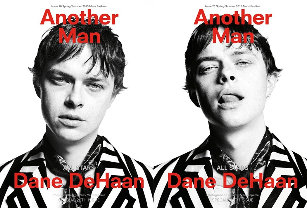 Dane DeHaan for Another Man S/S15