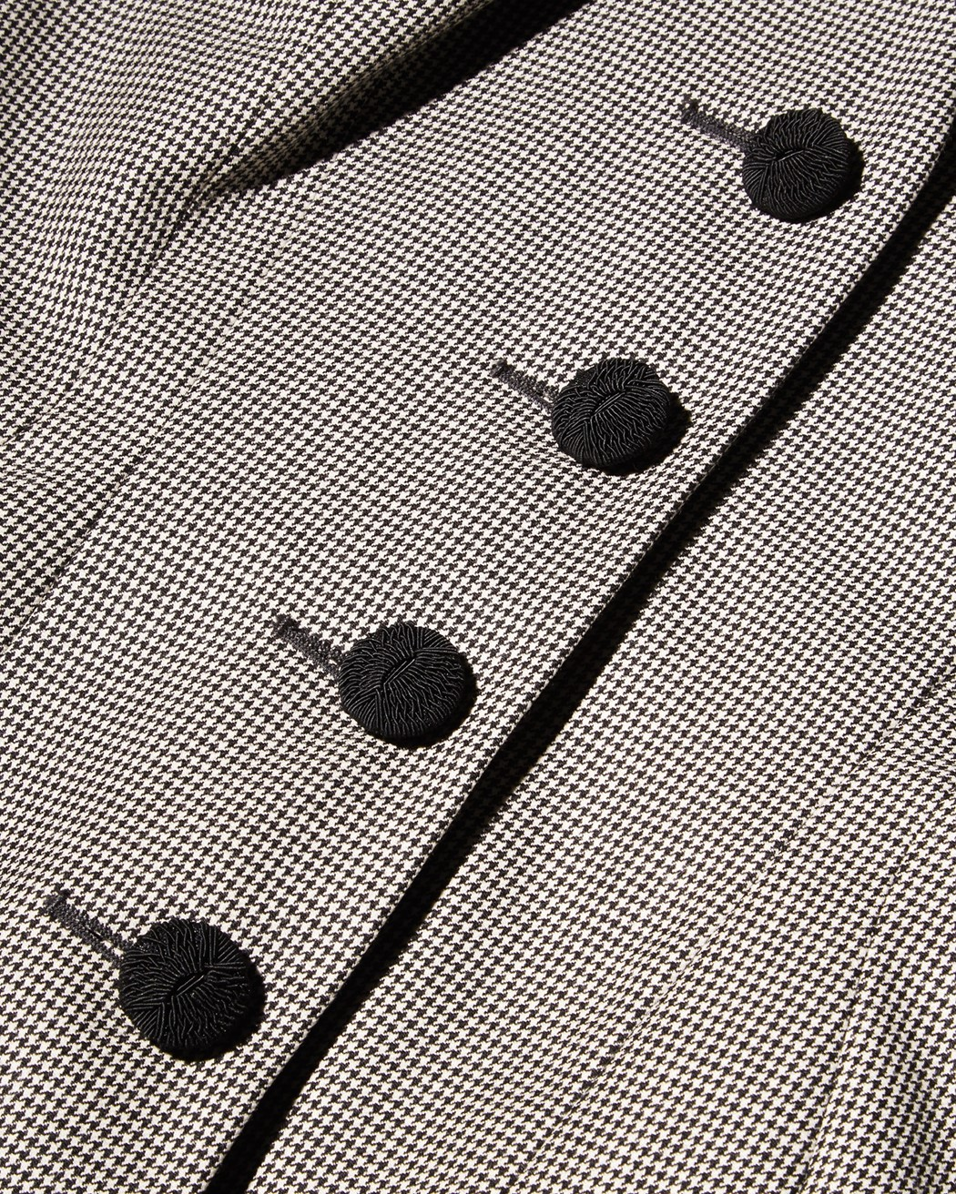 Houndstooth suit, John Galliano, spring/summer 1995