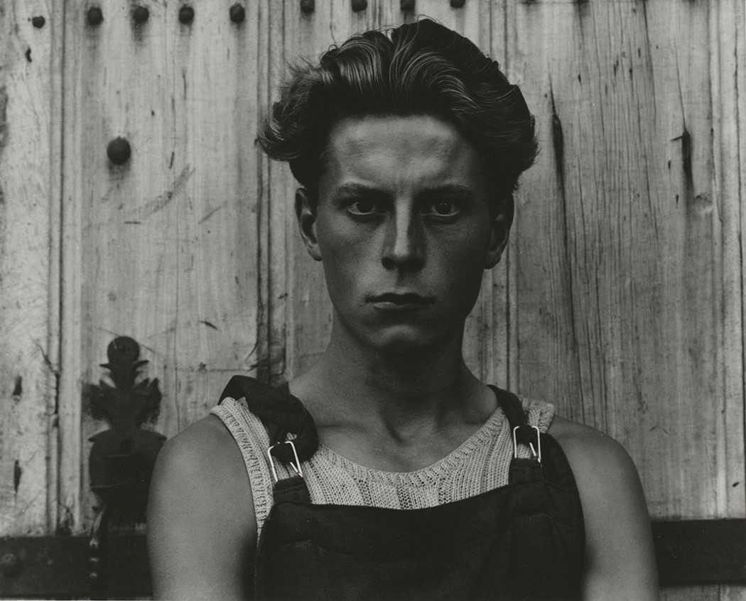 Paul Strand (1890-1976), Young Boy, Gondeville, Ch