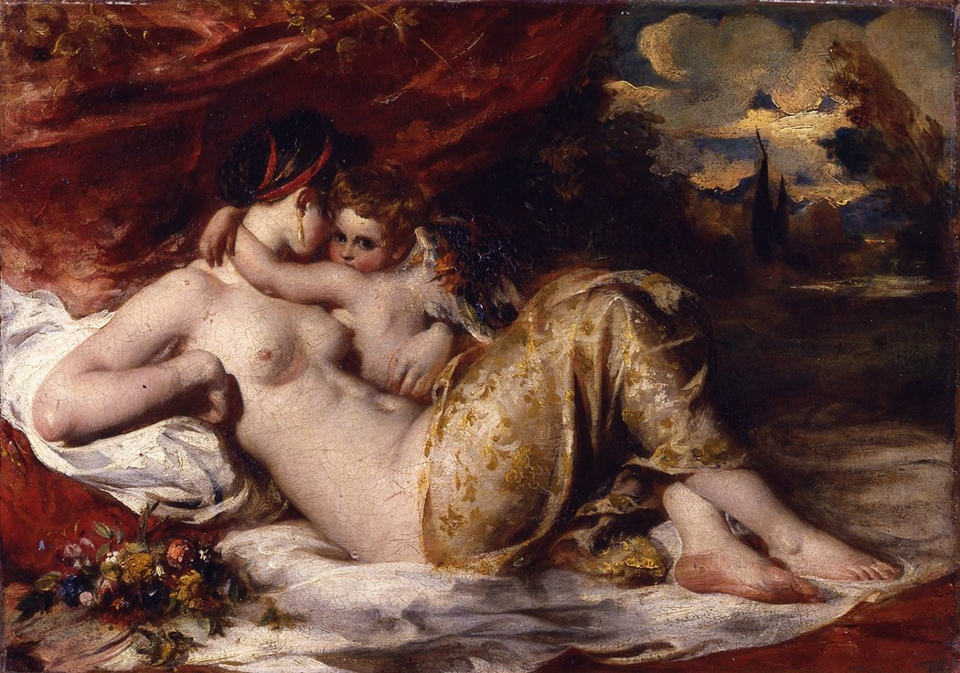 Venus and Cupid by William Etty 1835 York Museums