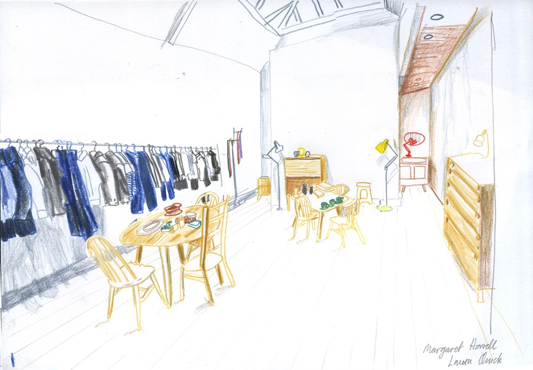store drawing