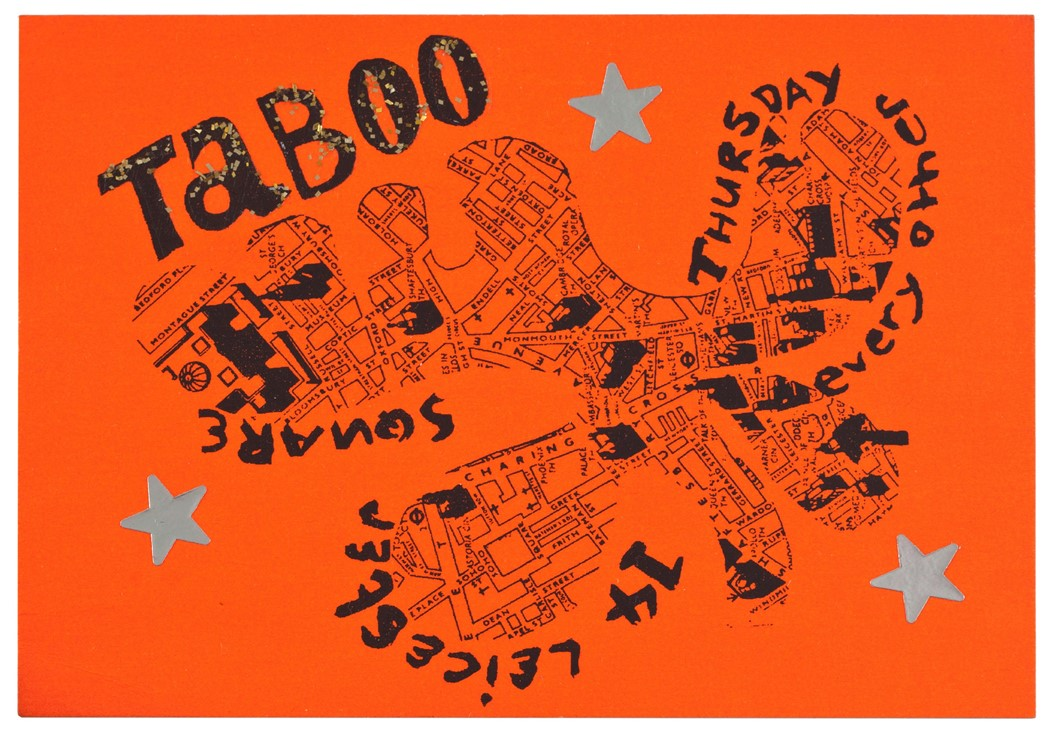 1985.1.31-Leigh-Bowery's-Taboo,-14-Leicester-Squar