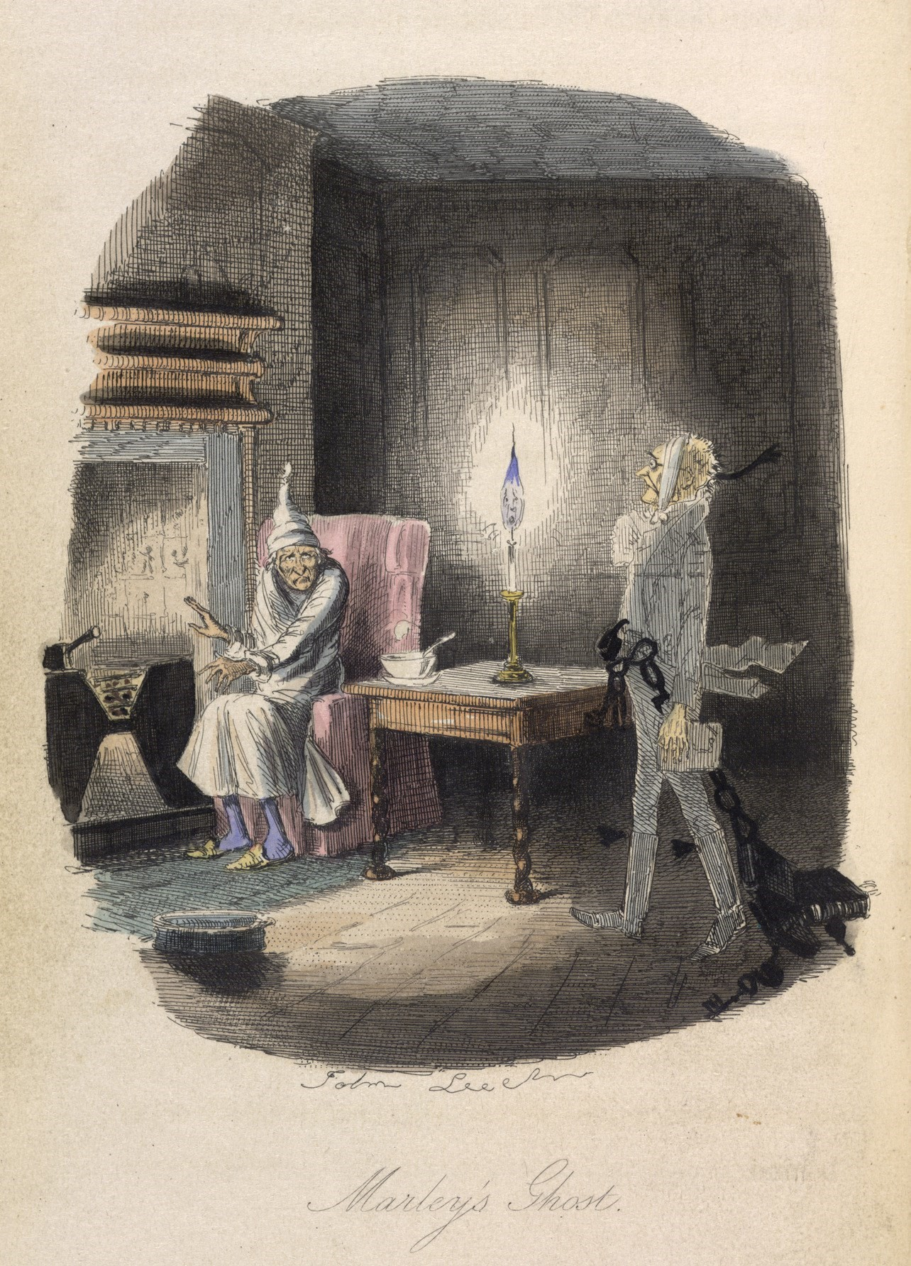 Marley's_Ghost_-_A_Christmas_Carol_(1843),_opposit