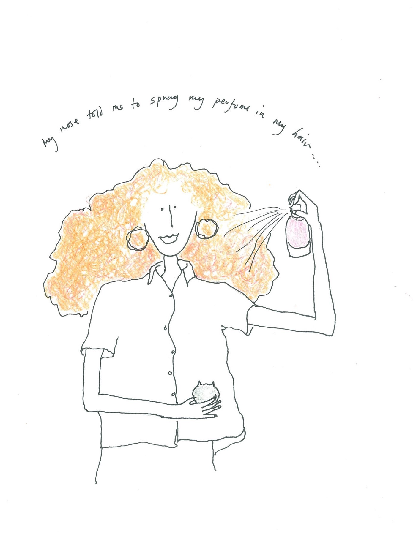 Illustration by Grace Coddington for AnOther