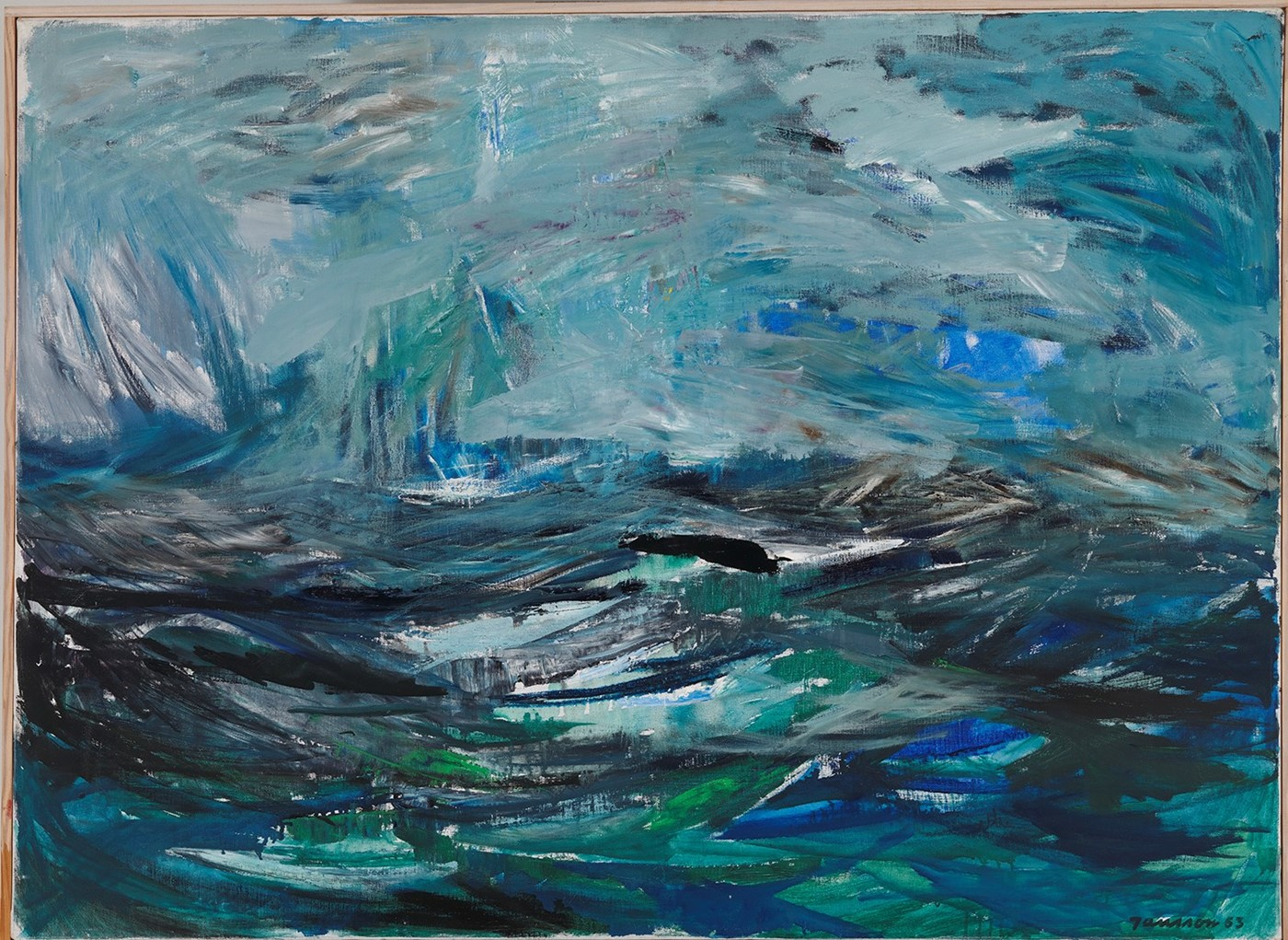 Abstract Sea, 1963
