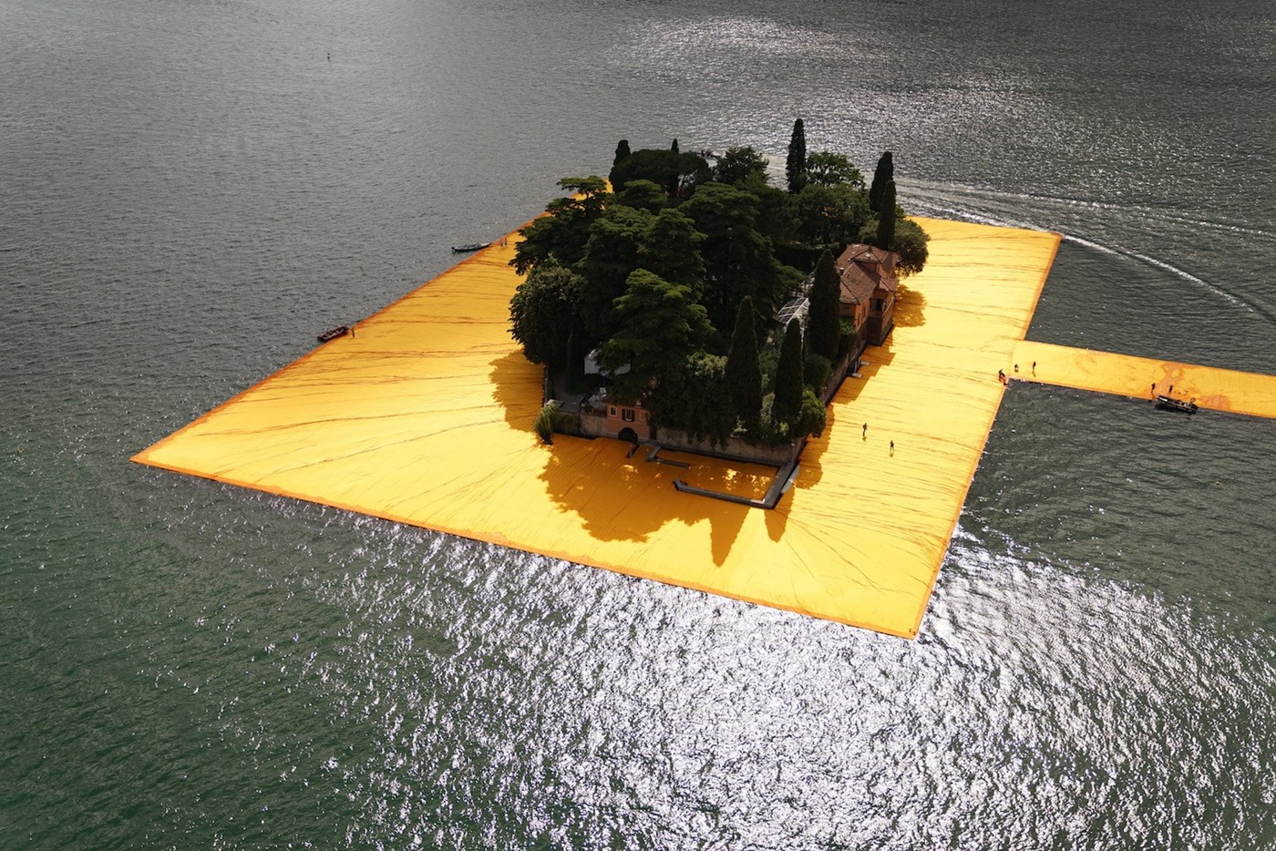 The Floating Piers - The Floating Piers, Lake Iseo