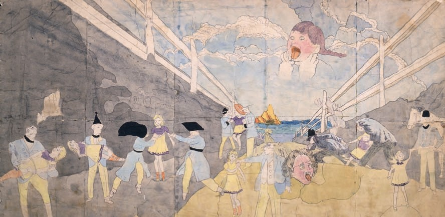 Untitled by Henry Darger, 1940s-1960s