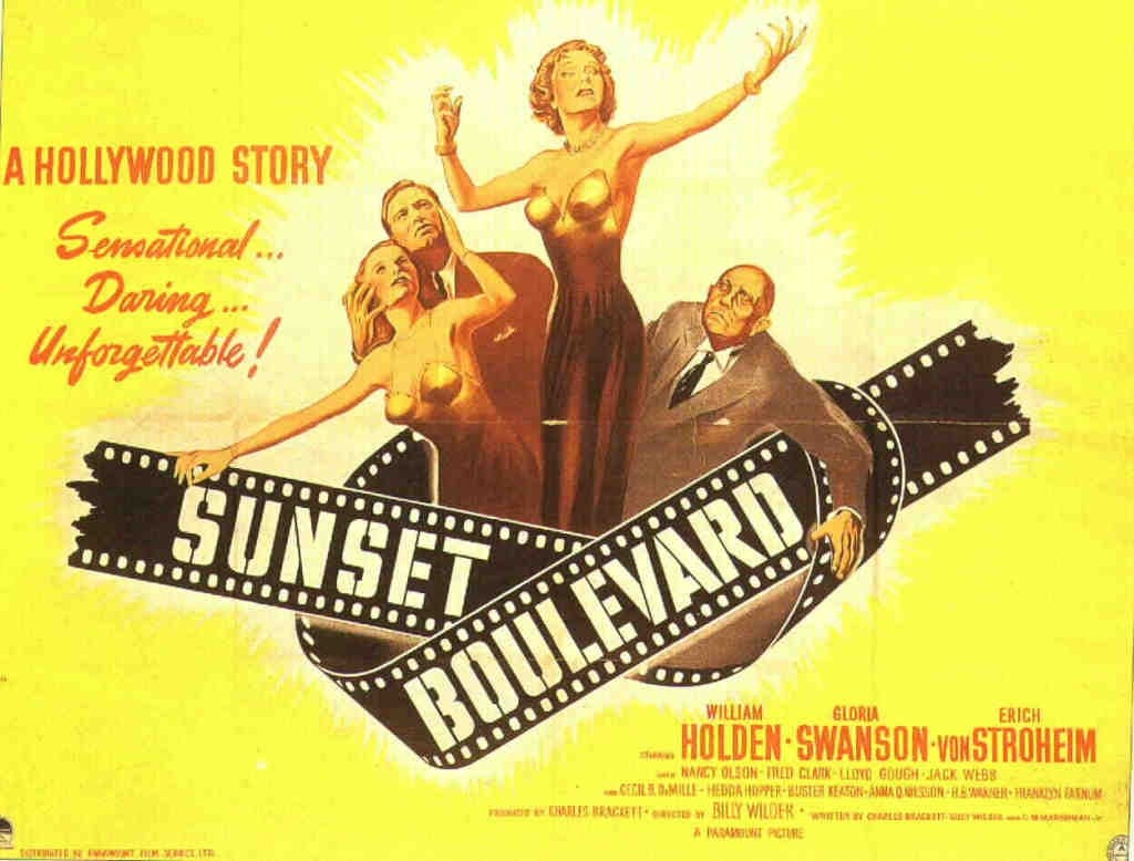 Sunset boulevard movie summary