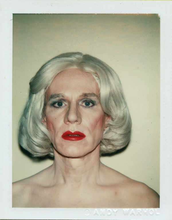 Self-Portrait in Drag, 1981, by Andy Warhol