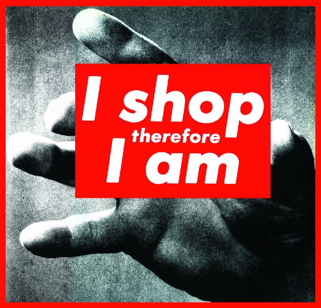 Untitled (I shop therefore I am ), 1987