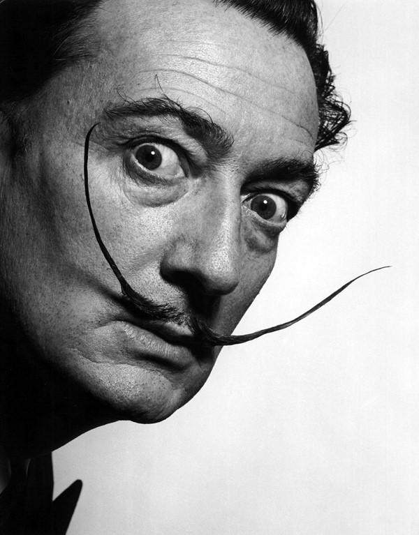 """Salvador Dali borrowed the style for his moustache from a p"