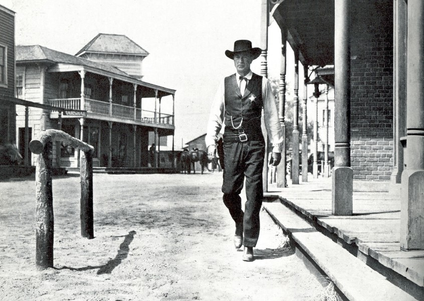 Gary Cooper in High Noon, 1952