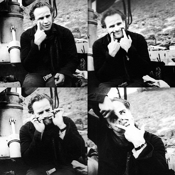 Marlon Brando on the set of One-Eyed Jacks, 1961