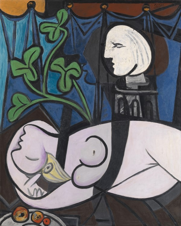 Pablo Picasso, Nude, Green leaves and Bust (also known as Bu