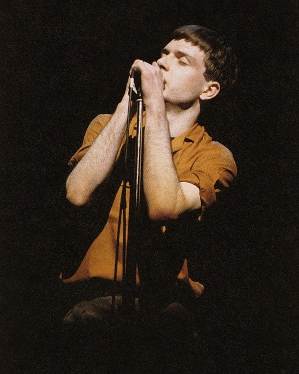 Ian Curtis in concert, The Rainbow Theatre, Finsbury Park, L