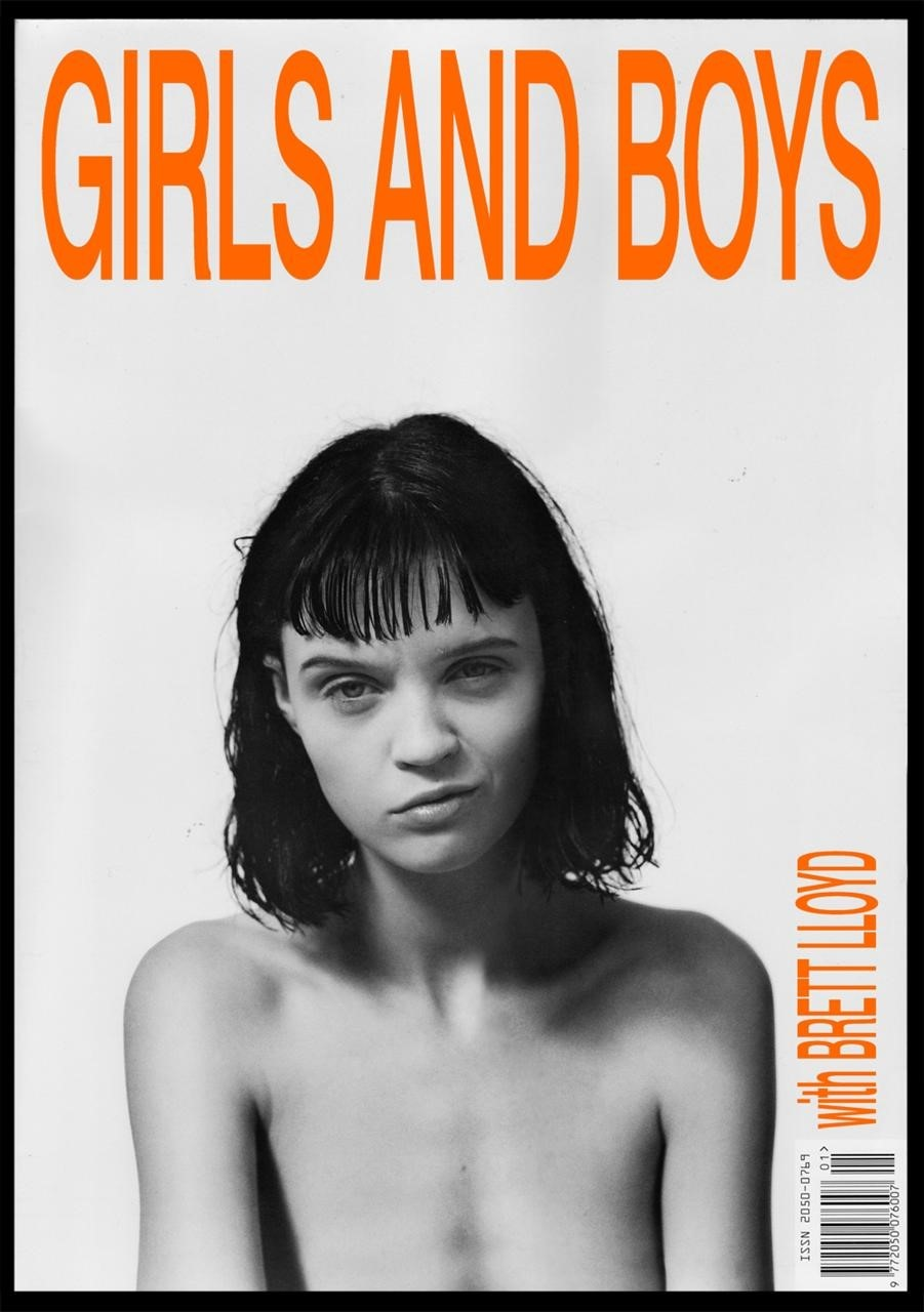Girls and Boys front cover featuring Flo Dron