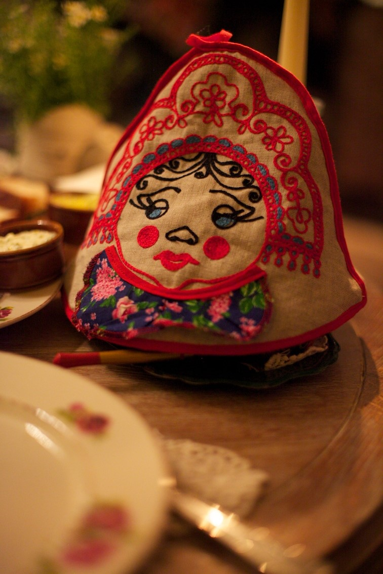 A Russian tea cosy
