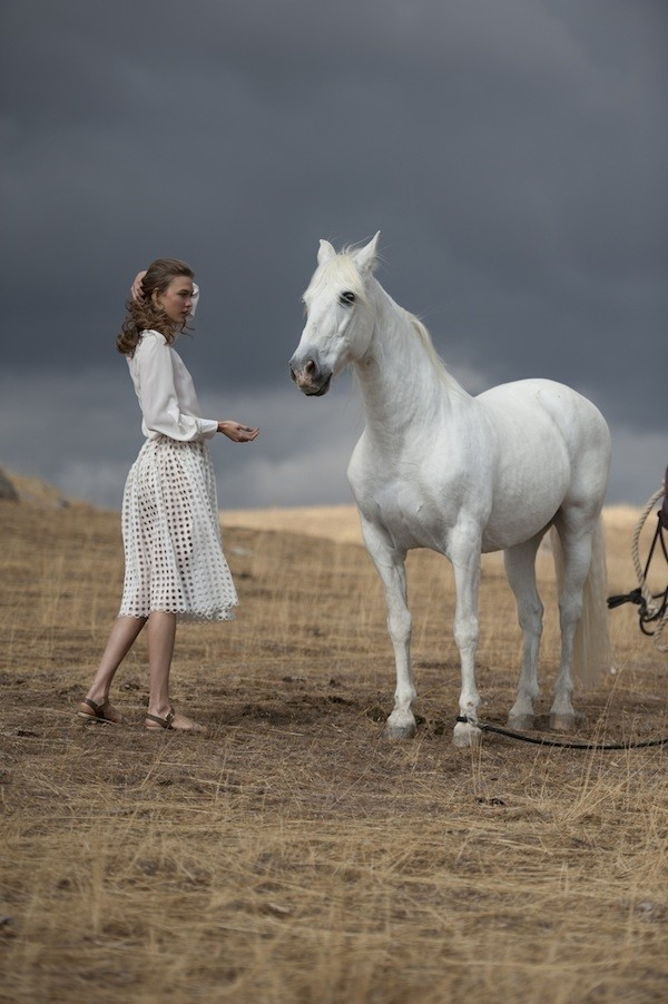 Behind the scenes of Mercedes-Benz A/W13 campaign