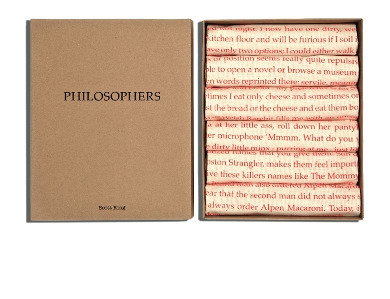 Philosophers Tea Towels by Scott King