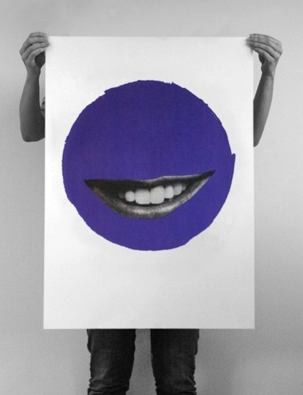 Happy Moon Day screenprint by No Days Off