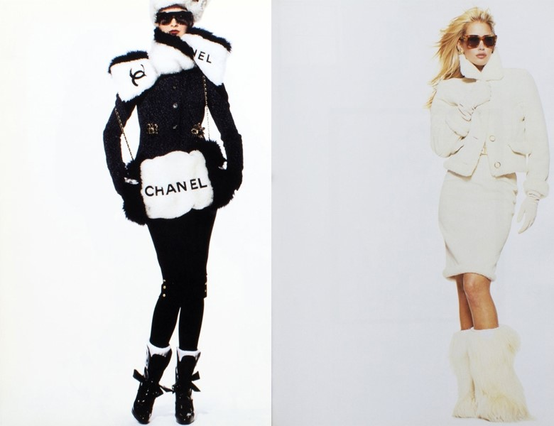 This or That?  Chanel A/W94 vs Versace Sport