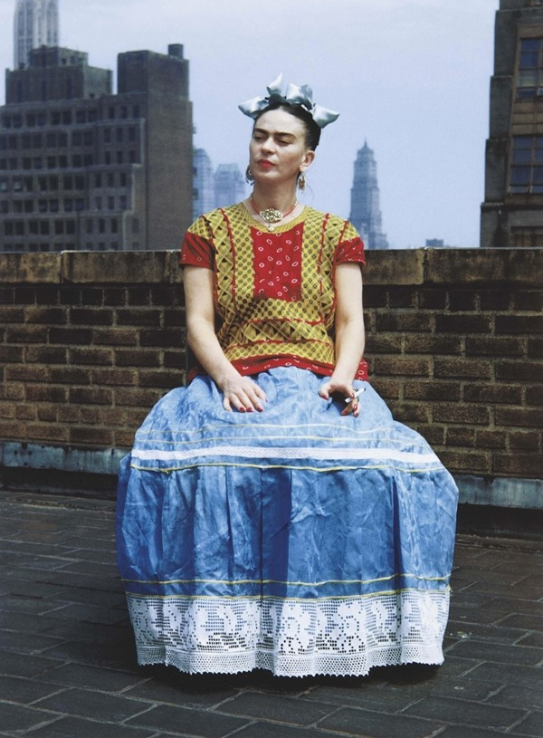 Frida Kahlo, New York, 1939