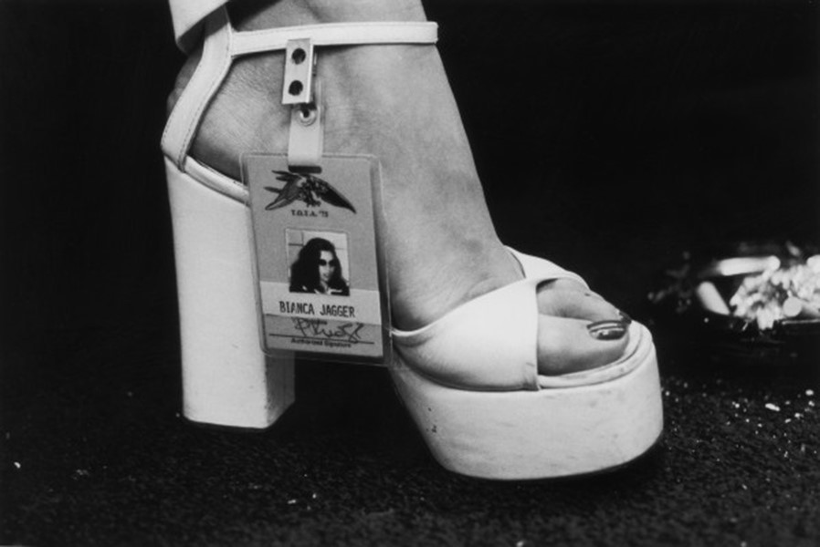 Bianca Jagger's backstage pass, Rolling Stones concert 1975