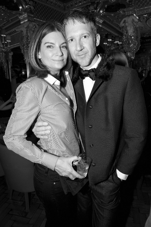 Natalie Massenet and Jefferson Hack