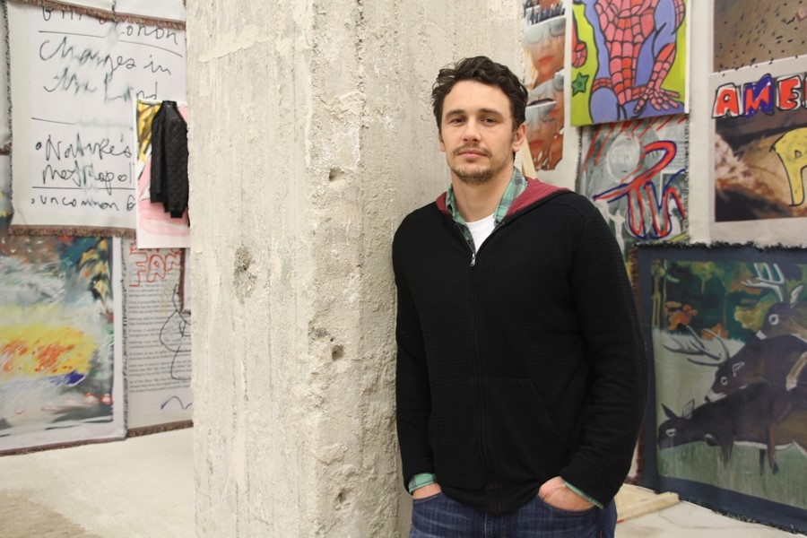 James Franco at Peres Projects