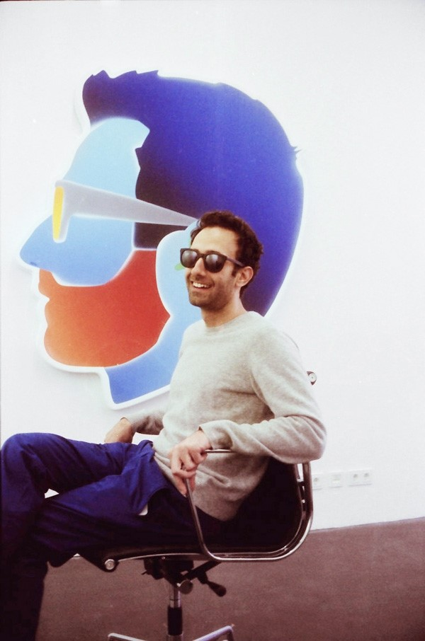 Alex Israel in Peres Projects, Berlin
