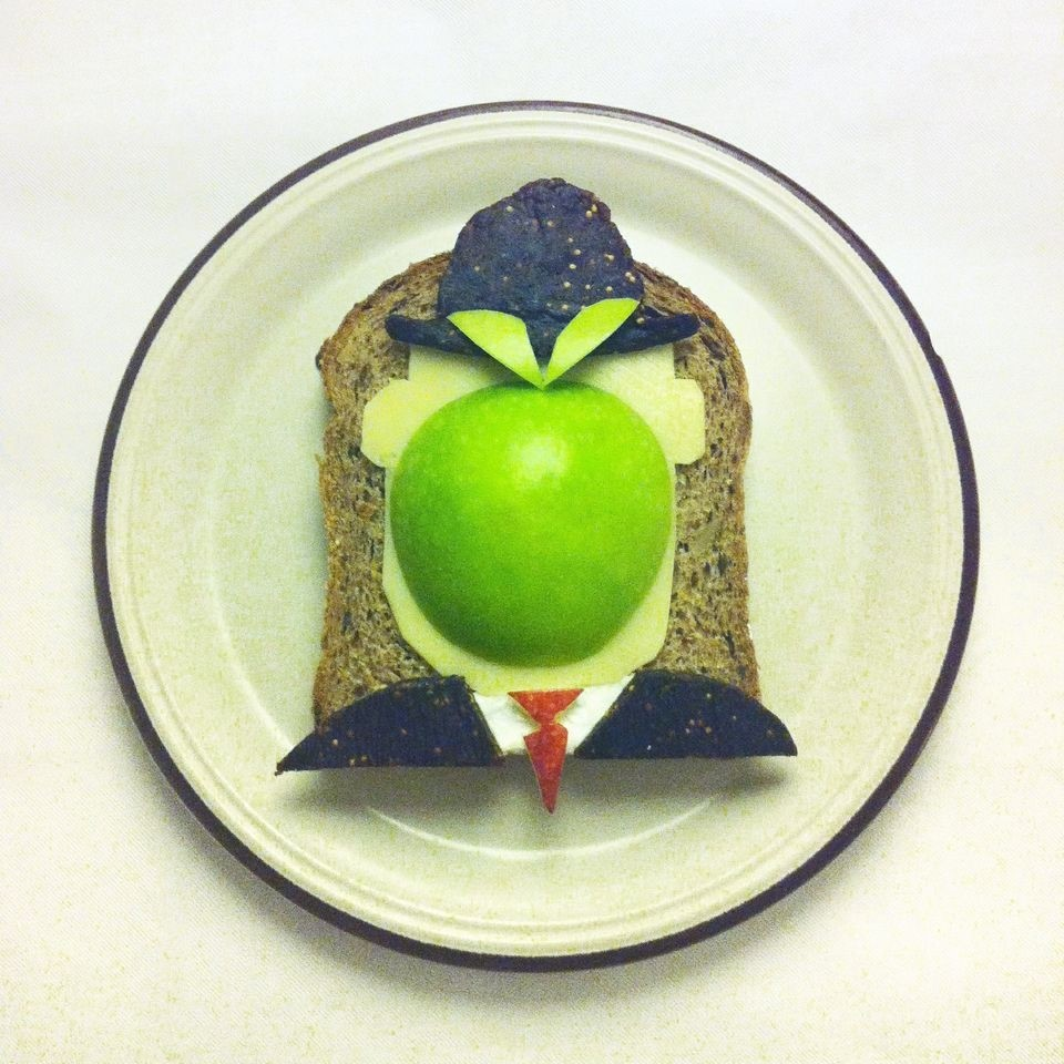 The Art Toast Project: René Magritte, The Son of Man