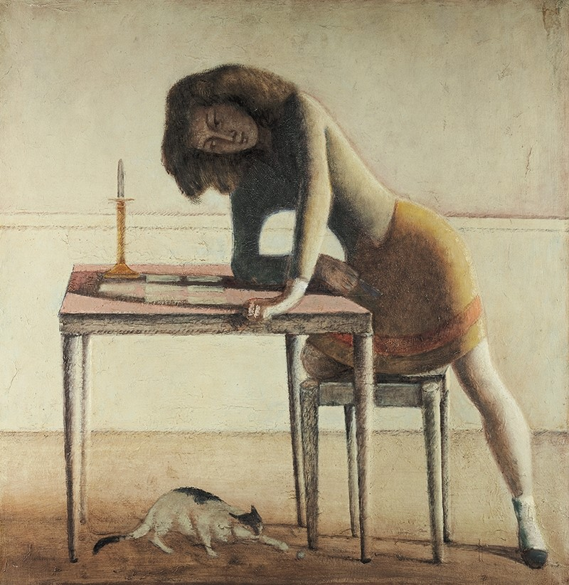 Balthus, The Game of Patience, 1945–55