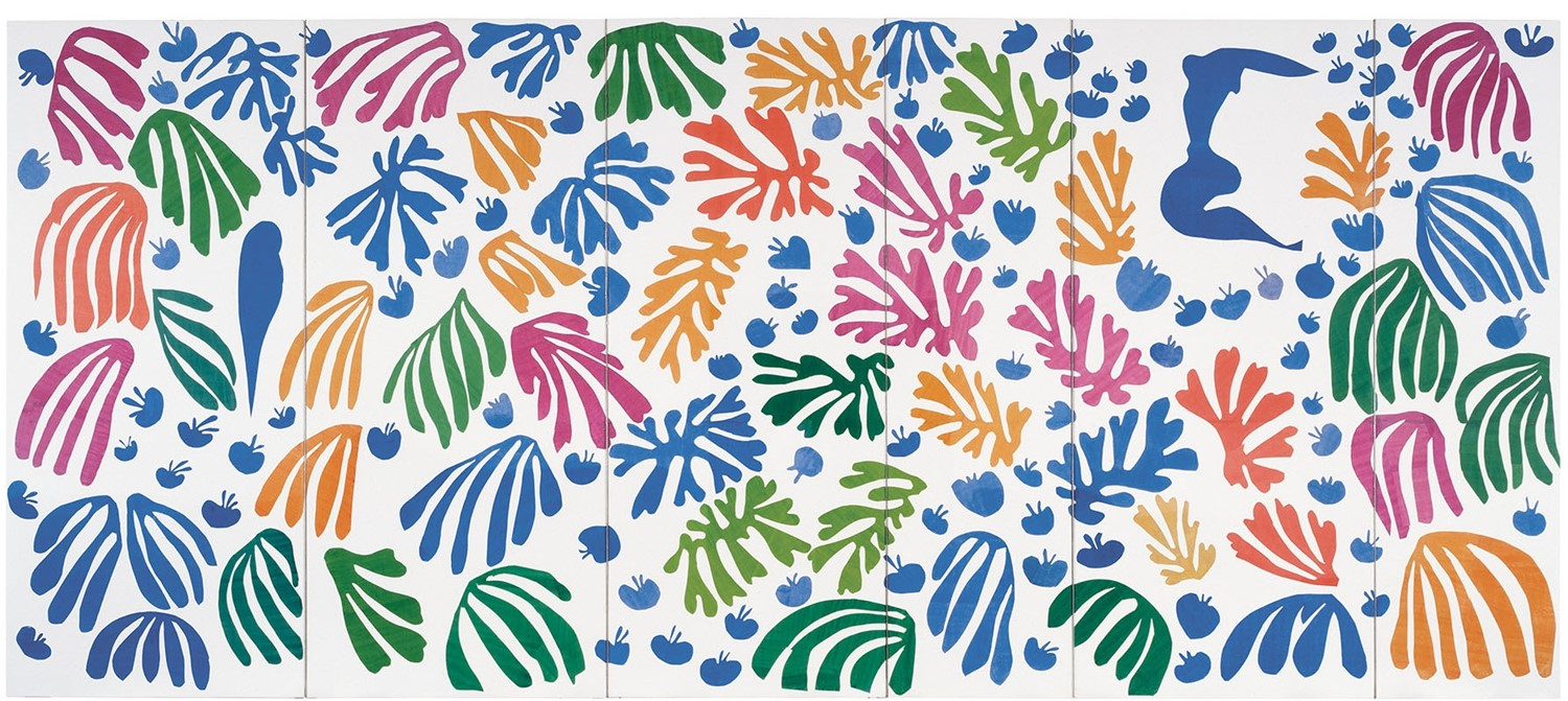 Henri Matisse, The Parakeet and The Mermaid, 1952