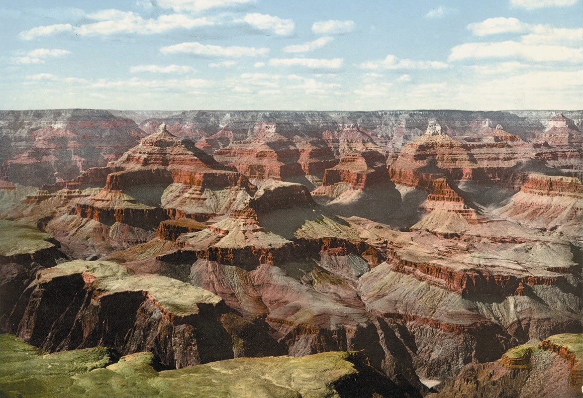 Grand Canyon, view from O'Neill's Point, Arizona, photochrom