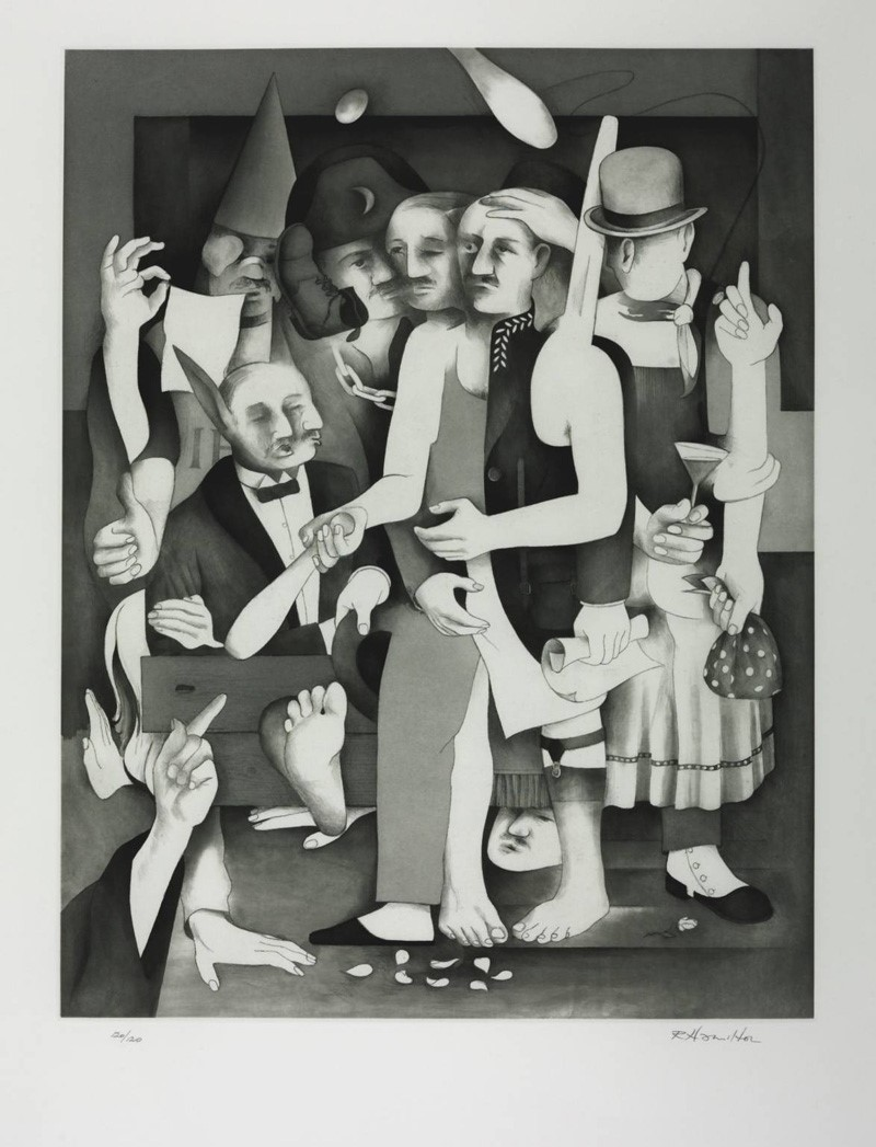 The Transmogrifications of Bloom by Richard Hamilton