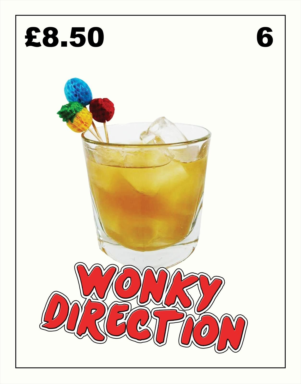 Wonky Direction by TART for Bleach Bar