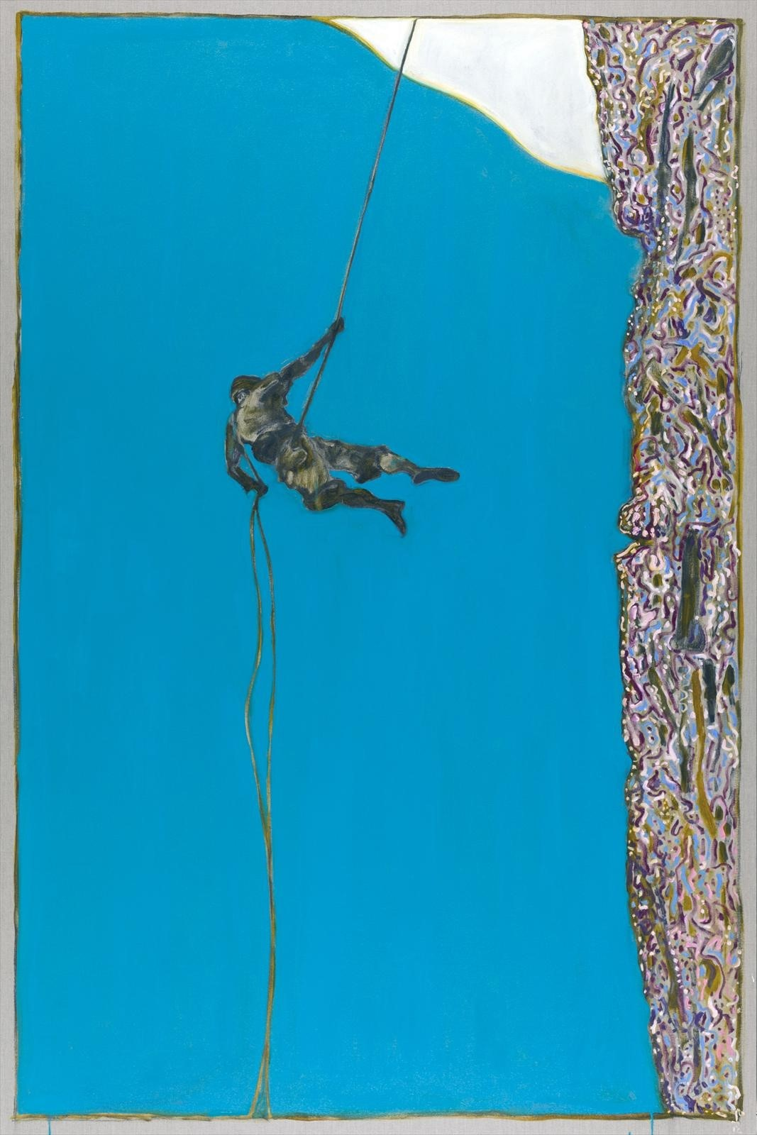 Billy Childish, Abseiler, 2012