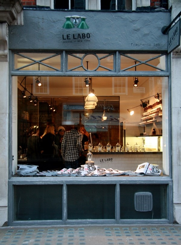 Perfume launch at the Le Labo store