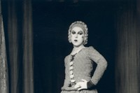 Claude Cahun as Elle in Barbe bleue, 1929