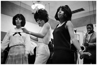 The Supremes at Motown studios, Detroit in 1965