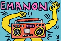 Emanon – The Baby Beat Box, 1986 by Keith Haring