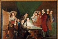 The Family of the Infante Don Luis de Borbón Francisco de Go