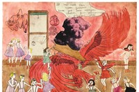 At McCalls Run Coller Junction Vivian, by Henry Darger