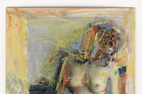 Saul Leiter, Painted Nude