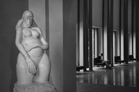 Andre Kertesz, Jacob Epstein's Genesis at the Whit