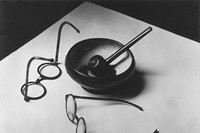 Andre Kertesz, Mondrian's Glasses and Pipe, Paris,