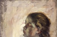 A Study of a Girl's Head, by Hilaire-Germain-Edgar